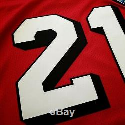 100% Authentic Deion Sanders 94 49ers Mitchell Ness NFL Jersey Size 52 2XL Mens