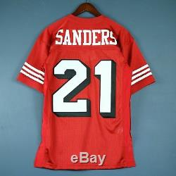 100% Authentic Deion Sanders Mitchell Ness 1994 49ers NFL Jersey Size Mens 36 S
