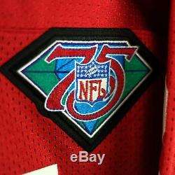 100% Authentic Deion Sanders Mitchell & Ness 49ers NFL Jersey Size Mens 40 M