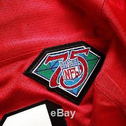 100% Authentic Deion Sanders Mitchell & Ness 94 49ers NFL Jersey Size 52 2XL