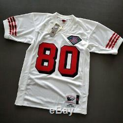 100% Authentic Jerry Rice Mitchell & Ness 1994 49ers Jersey Size 40 M Mens