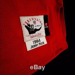 100% Authentic Jerry Rice Mitchell & Ness 49ers NFL Jersey Size 40 M