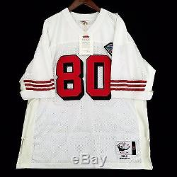 100% Authentic Jerry Rice Mitchell & Ness 49ers NFL Jersey Size 52 2XL
