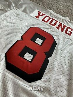 100% Authentic Mitchell & Ness Steve Young Jersey size 44 SF 49ers NWT