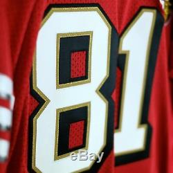 100% Authentic Terrell Owens 49ers Mitchell & Ness NFL Jersey Size 48 XL Mens