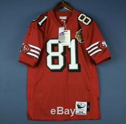 100% Authentic Terrell Owens 96 49ers Mitchell & Ness NFL Jersey Size 40 M Mens