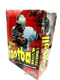 1981 Topps Football 36 Pack Unopened Wax Box BBCE Montana RC (NON X OUT)