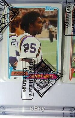 1981 Topps Football Rack Pack Upshaw Bbce Authenticated Possible Montana Rookie
