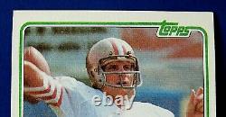 1981 Topps Joe Montana Football Card #216 Rookie Rc Nm/mt