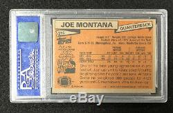 1981 Topps Joe Montana RC Rookie #216 PSA 9 (BB MO)