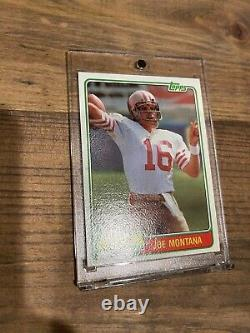 1981 Topps Joe Montana Rookie Nm Mt! Strong PSA submission