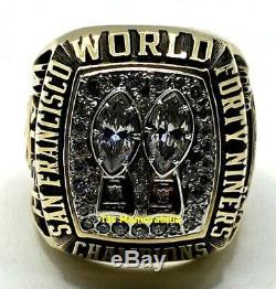 1984 San Francisco 49ers Super Bowl XIX Champions Championship Ring Jostens 10k