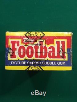 1985 Topps Football Box BBCE Sealed & Authenticated, PSA 10's, 36 Packs