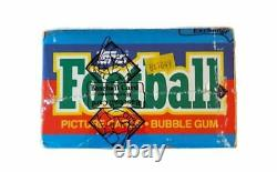 1986 Topps Football Hobby Wax Box BBCE Non Close Out Possible Jerry Rice RC