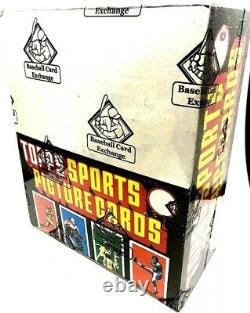 1986 Topps Football Rack Box BBCE! Non X-out. No Line