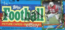 1986 Topps Football Unopened Wax Box BBCE. Jerry Rice Rookie, Steve Young Rookie