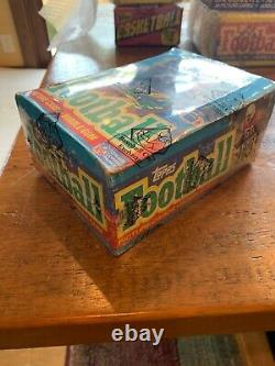 1986 Topps Football Wax Box BBCE (Jerry Rice, Perry, Young)