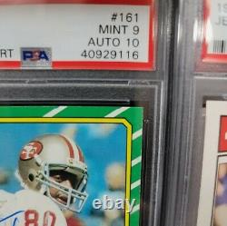 1986 Topps Jerry Rice PSA 9 Auto 10, pop 10, none higher
