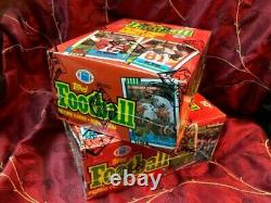 1990 Topps Football Unopened Wax Box BBCE wrapped from case Lot of 2
