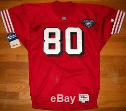 1994 49ers Jerry Rice Authentic Jersey 50 Wilson USA Pro Line 75th Vtg RARE NWT
