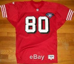 1994 San Francisco 49ers Jerry Rice Authentic Jersey Sz 46 Pro Line Wilson TBTC