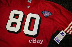 1994 San Francisco 49ers Jerry Rice Authentic Jersey Sz 48 Pro Line Starter NWT