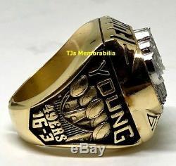 1994 San Francisco 49ers Super Bowl XXIX Champion Championship Ring Balfour