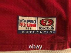 1996 Jerry Rice San Francisco 49ers Reebok Pro Cut Team Issued Home Jersey 48 -4