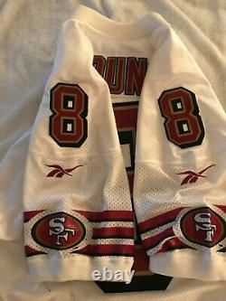 1996 Steve Young San Francisco 49ers Reebok Pro Cut Team Issued Away Jersey 46