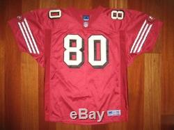 1999 Authentic 49ers Jerry Rice ADIDAS jersey 52 SIGNED AUTOGRAPHED PRO-Line
