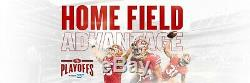 (2) LOWER BOX Tickets 1/19 GB Packers SF 49ers SHADED SIDE Sec 144 NFC CHAMPION