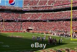 2 SF 49ers NFC Championship Playoff Tickets vs Green Bay Packers Levis 1/19/20