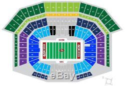 2 Tickets Bears @ 49ers 12/23/2018 Levis Stadium Lower Level