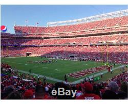 2 Tickets Section 131 San Francisco 49ers vs Lions 9/16/18 with Parking