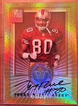2000 Jerry Rice And Randy Moss Passing The Torch Dual Autograph #5/50 Auto