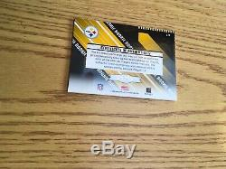 2004 Leaf Rookies And Stars Ben Roethlisberger Auto Jersey Rc #25/50 Nm Mt