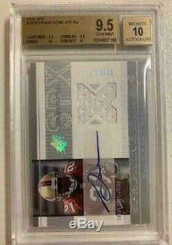 2005 Frank Gore SPx /1275 Jersey RC BGS 9.5 with 10 Auto