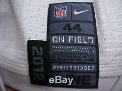 2012 NFL San Francisco 49ers Game Issued Road Jersey Player #92 Size 44