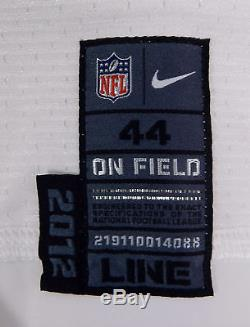 2012 San Francisco 49ers #51 Game Issued White Jersey