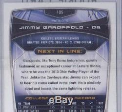 2014 Bowman Jimmy Garoppolo Green Foil 1/1 RC (only 1 in existance)