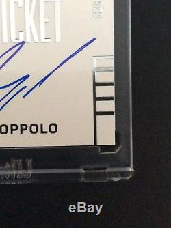 2014 Contenders Jimmy Garoppolo Auto Rookie Ticket Autograph 49ers