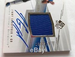 2014 Jimmy Garoppolo SP Authentic RC Jersey Auto Autograph #'d 163/350 Jimmy GQ