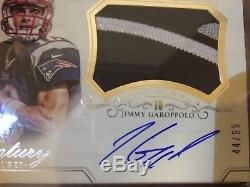 2014 National Treasures JIMMY GAROPPOLO RC Patch Auto RPA #44/99 49ers