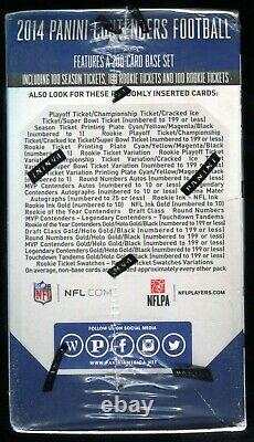 2014 Panini Contenders Football Blaster Box NEW Unopened and Factory Sealed
