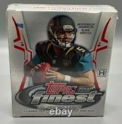 2014 Topps Finest Football Hobby Mini Box New and Factory Sealed 1 Autograph