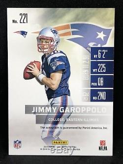 2014 contenders Jimmy Garoppolo Auto RC Rookie 49ers QB Patriots