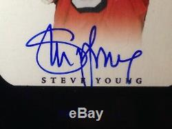 2015 Flawless STEVE YOUNG #14/20 AUTO Autograph Sapphire BLUE Parallel