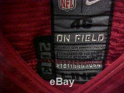 2016 NFL San Francisco 49ers Game Worn #99 DeForest Buckner Nike Jersey Size 46