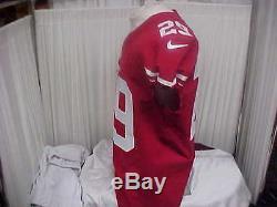 2016 NFL San Francisco 49ers Game Worn Jersey #29 Jaquiski Tartt Size 42