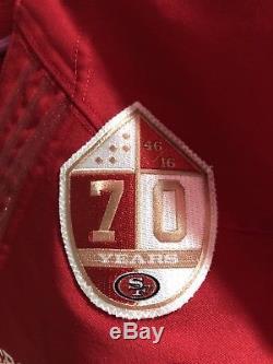 2016 Shayne Skov Game Worn Used 49ers jersey. Team COA